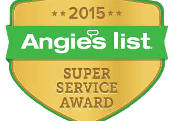 A Step Above is given Angie's List SUPER SERVICE AWARD