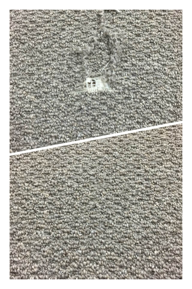 Burn Plugs (To prevent replacing small areas) – small burns don't always need a full sized patch. We can remove the melted fibers and pull fibers from an ...