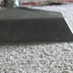 Close up on carpet cleaning with A Step Above
