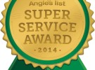 Angie's List Super Service Award Winner 2014